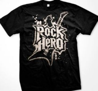 Rock Hero Mens T shirt, Mens Guitar God Oversized Design