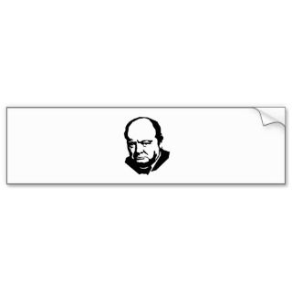 Winston Churchill Quote on Socialism Bumper Stickers