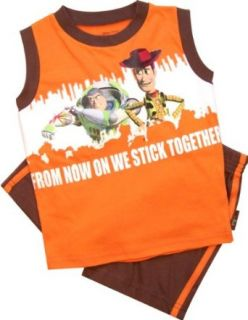 Toy Story Toddler Boys Muscle Shirt & Shorts Set Size 5T