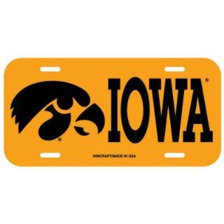 Iowa Hawkeyes Official Logo License Plate Frame: Sports