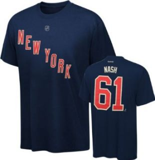 Rick Nash New York Rangers Blue Jersey Name And Number T