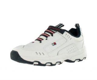 Hilfiger Huddle II Signature Casual Shoe Blue, Red, White (3) Shoes