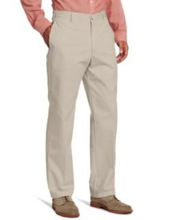 IZOD Mens American Chino Flat Front Metrix Fit Pant