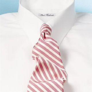 Tab Collar Button Cuff Dress Shirt White 14.5/32 Clothing