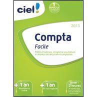 Ciel Compta Facile 2013 + 1 an dassistance Online à télécharger