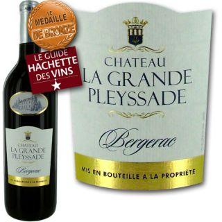 AOC Bergerac   Millésime 2011   Vin rouge   Vendu à lunité   75cl
