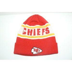 Kansas City Chiefs Reebok Cuffed Chiefs Beanie Sports