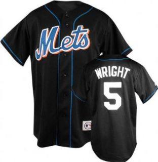 David Wright Black Majestic MLB Alternate Replica New York