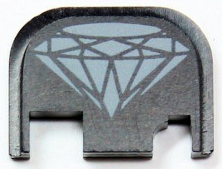 Diamond Rear Slide Cover Plate for Glock Pistols Sports