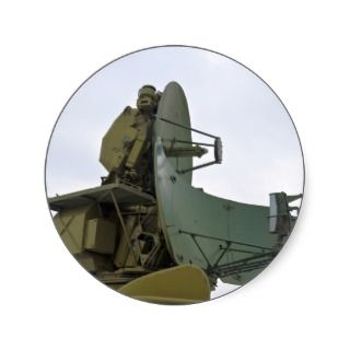 military radar antenna sticker
