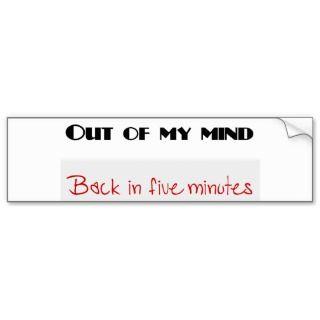 Funny quotes bumper sticker