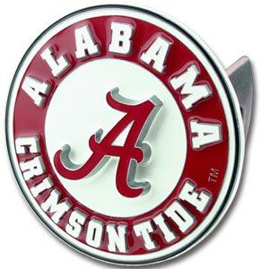 Alabama Crimson Tide 3 D Trailer Hitch Cover   NCAA