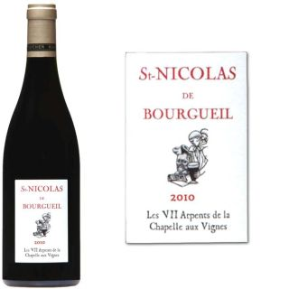 2010   Achat / Vente VIN ROUGE St Nicolas de Bourgueil 2010