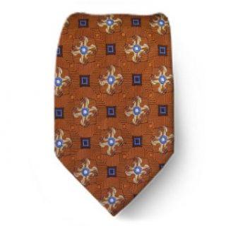 XL 1680   Orange   Brown   Blue   Mens X  Long Silk