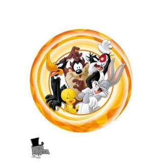10 Assiettes (23cm)   Looney Tunes   Achat / Vente ASSIETTE JETABLE 10