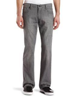 Levis Mens 527 Boot Cut Two Tone Zip Jean, Silver Fox