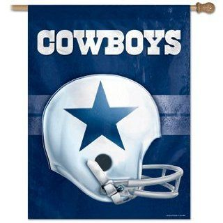 NFL Dallas Cowboys Vintage Vertical Banner Flag Sports