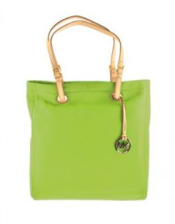 MICHAEL Michael Kors Jet Set Leather Tote LIME 30T91TTT3L