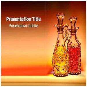 Oil Bottle Powerpoint Templates   Oil Bottle Powerpoint