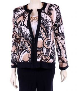 Womens Petite Aztec Print Jacket by Alfred Dunner   6P