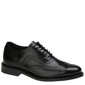 Tuxedo Shoe   English Bal Cap Toe Shoe Black/White Shoes