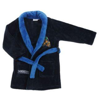 Coloris  Marine/bleu roi   Robe de chambre Garçon avec ceinture à
