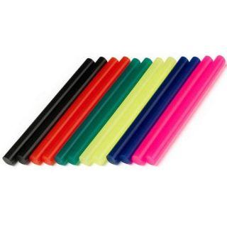 Lot de 12 batons de colle coloree 7 mm GG05   Achat / Vente PISTOLET A