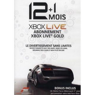 XBOX LIVE GOLD ABONNEMENT 12 + 1 MOIS / ACCESSOIRE POUR CONSOLE XBOX
