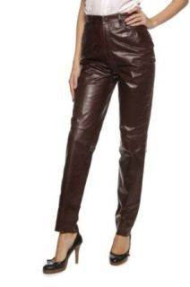 Cristiano di Thiene Leather Pants LONDON, Color: Dark