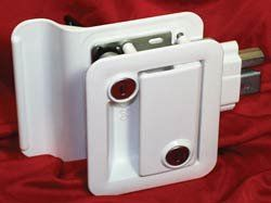 Travel Trailer Lock, White Sports & Outdoors