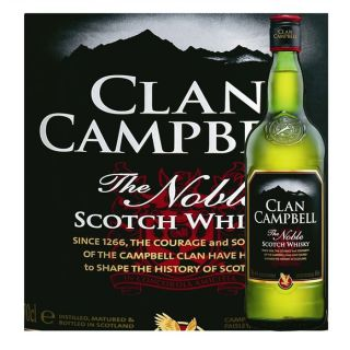 Clan Campbell The Noble (70cl)   Achat / Vente WHISKY BOURBON SCOTCH