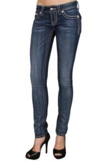 Miss Me Jeans Dark Wide Pick Stitch Skinny Jean (JS5014S33