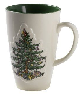 Spode Christmas Tree Color Glaze 22 Ounce Mug Kitchen