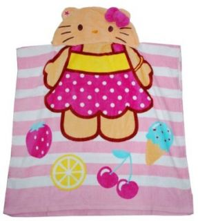 Sanrio Sundae Hello Kitty Hooded Towel For Toddler