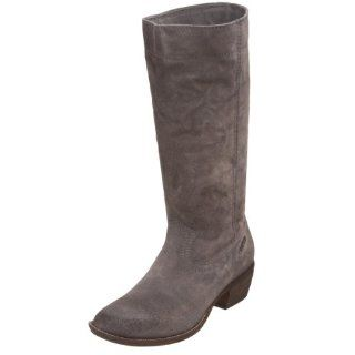 Diesel Womens Dusty Knee High Boot,Steel Grey,35 M EU / 5 B(M) Shoes