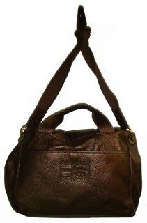 Womens Large Fossil Morgan Messenger Handbag (Bronze) Shoes