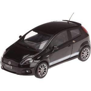 MONDO Fiat Grande Punto Abarth SS 1/18 Noire   Achat / Vente MODELE