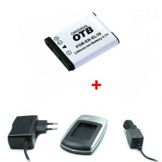 BATTERIE / CHARGEUR / ADAPTATEUR Chargeur + Batterie pour Nikon EN