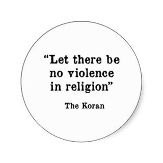 The Koran Sticker