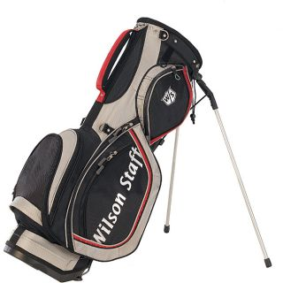 Wilson Staff Black/ Red 2009 Tour Carry Golf Bag