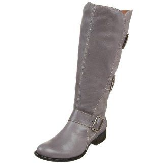 Como Womens Saddle Buckle Boot,Sand Grey Nubuck Multi,5.5 M US: Shoes