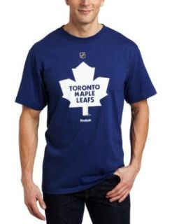 NHL Toronto Maple Leafs Primary Logo T Shirt Mens Sports