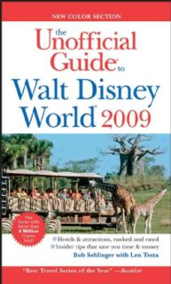 Unofficial Guide Walt Disney World 2009 (Paperback)