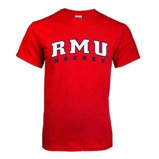 Robert Morris Red T Shirt Small, Hockey