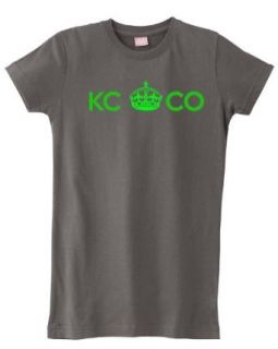 KCCO   Keep Calm and Chive On Womens T shirt Clothing