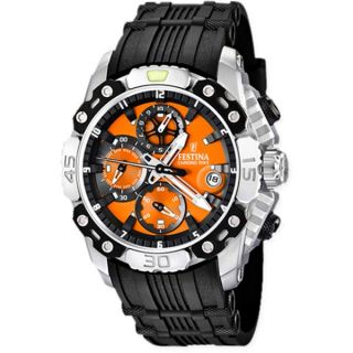 Montre Homme   Quartz   Orange   F16543 7   Achat / Vente MONTRE