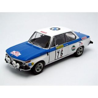 AUTOart 1/18 BMW 2002   Winner TAP Rallye 72   Achat / Vente MODELE