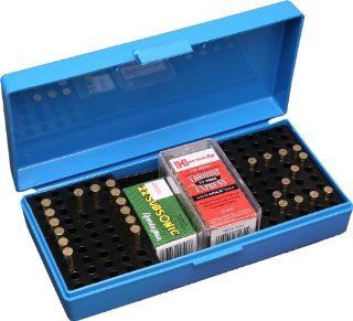MTM 200 Round Small Bore Ammo Box .22 Long Rifle (Blue