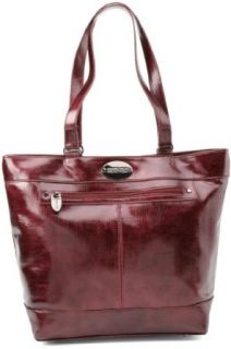 Kenneth Cole Reaction Luggage Etched In Stone Tote, Red