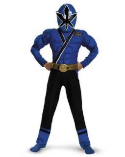 Samurai Blue Ranger Costume Clothing